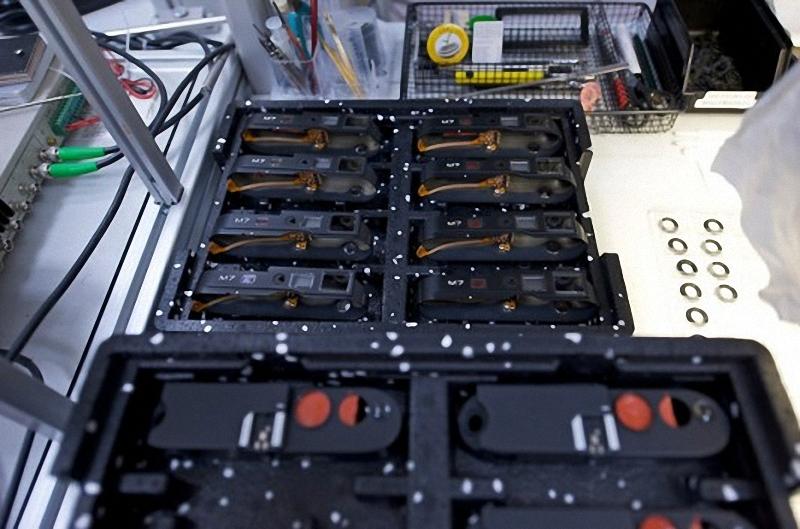 7) Корпуса M7, готовы к сборке в любой момент.