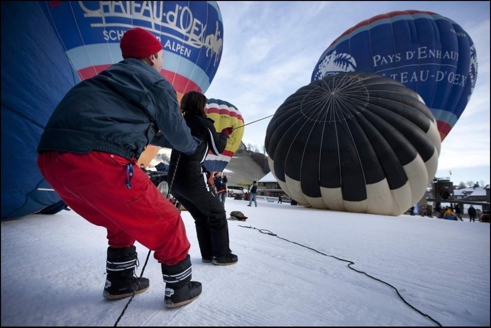 7) Перед взлётом. (Reuters/Valentin Flauraud)