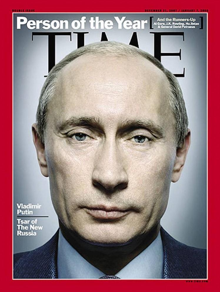 9. В 2007 году редакторы издания «TIME» выбрали «Человека года» человека, который «приручил Россию» - президента Владимира Путина. В журнале было интервью Путина о коррупции, религии и войне в Ираке.