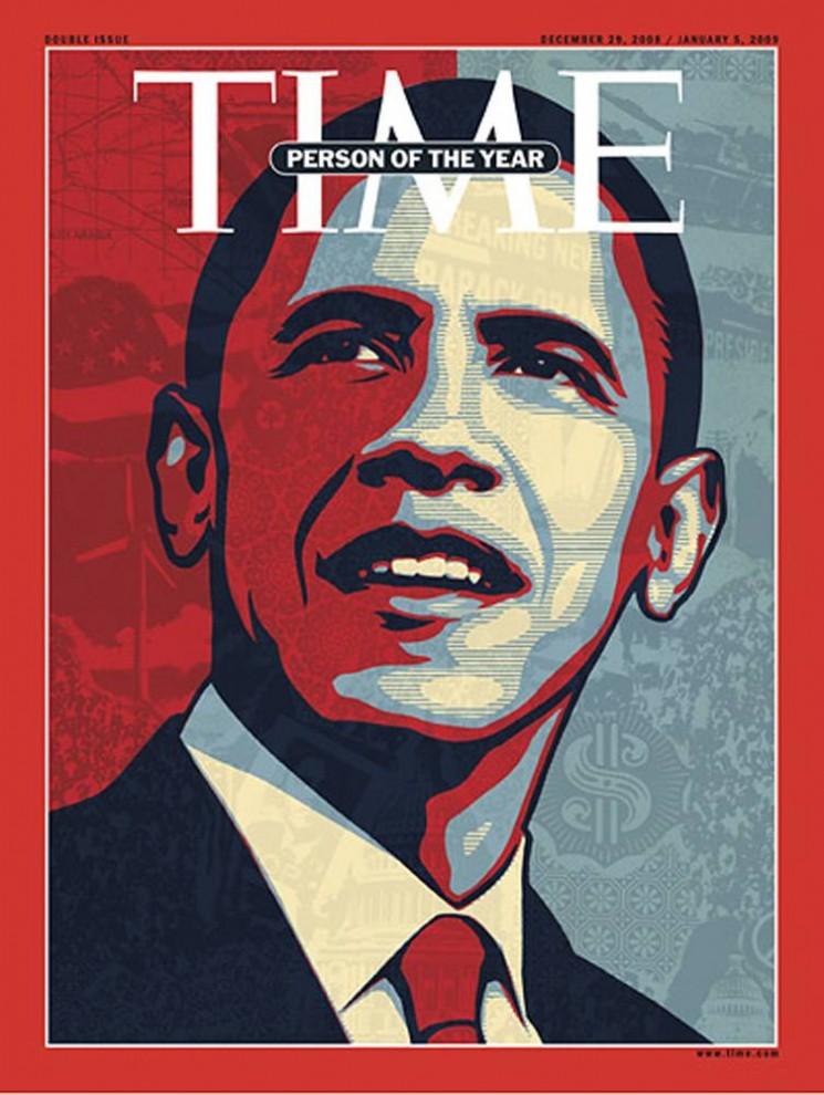 10. В 2008 году «Человеком года» по мнению журнала «TIME» стал человек, победивший на исторических выборах – Барак Обама.