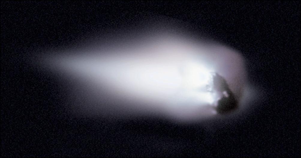 10) Ядро кометы.