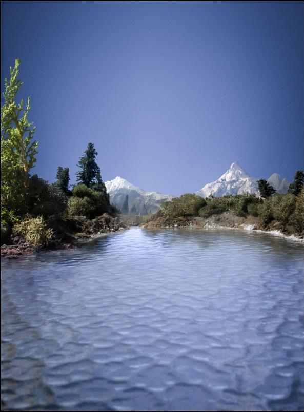11) Озеро.