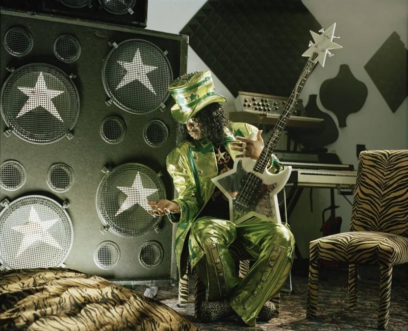 12. Артист Бутси Коллинс у себя дома недалеко от Цинциннати. (Eric Ogden / Character Project)