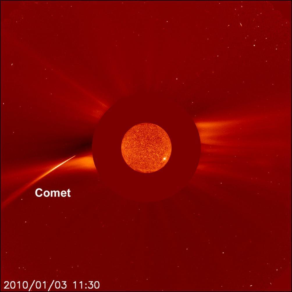 16) Новогодняя комета.