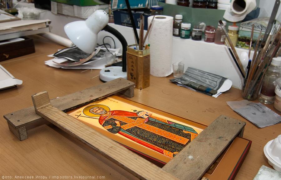 Иконописная мастерская. Как создается икона