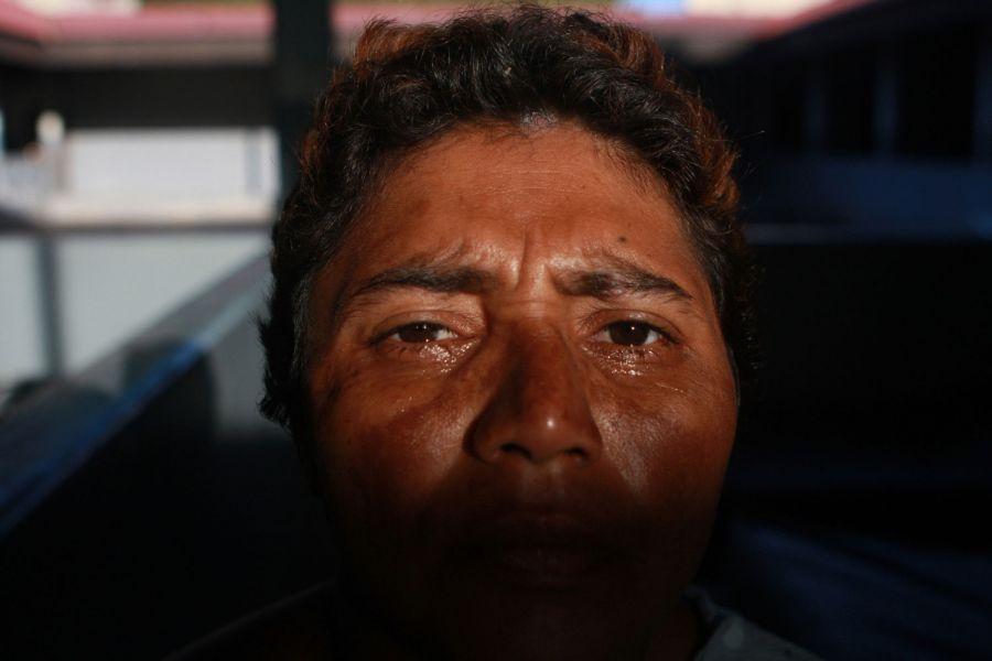 18. Одна из пациенток психиатрической клиники в женском отделении в Манагуа 4 февраля 2009 года. (AP Photo/Esteban Felix)