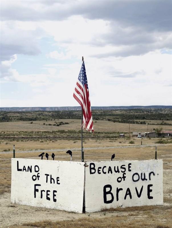 19. Дань почета войскам в Гранд Джанкшен, Колорадо. (David Eustace / Character Project)