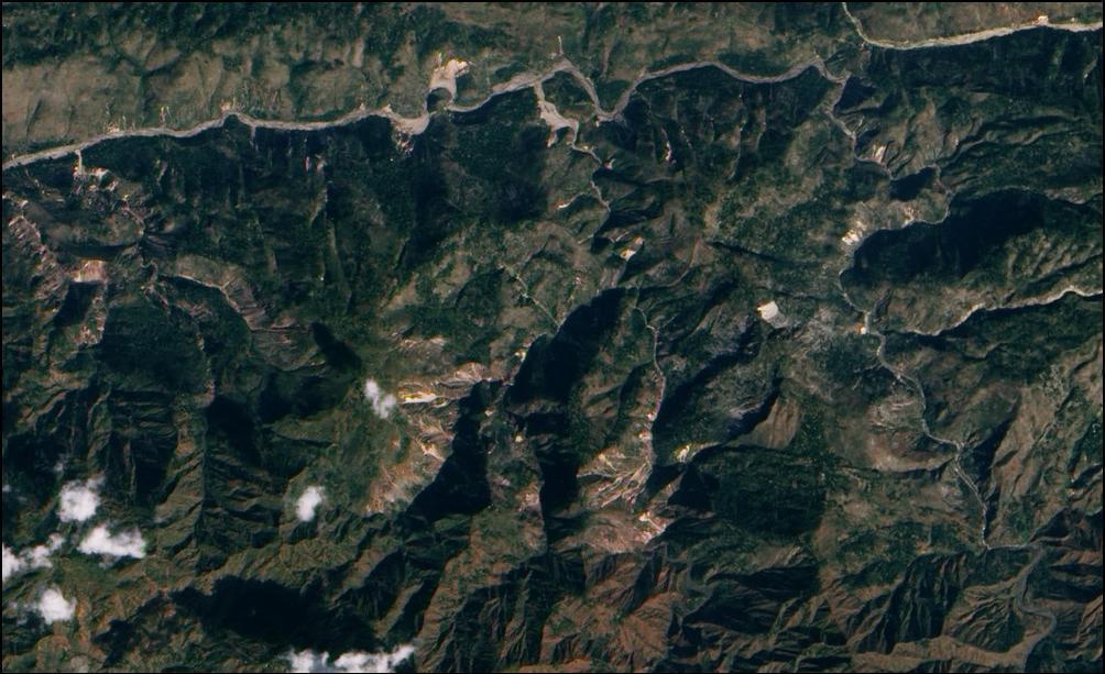 20) Эпицентр землетрясения в Гаити.