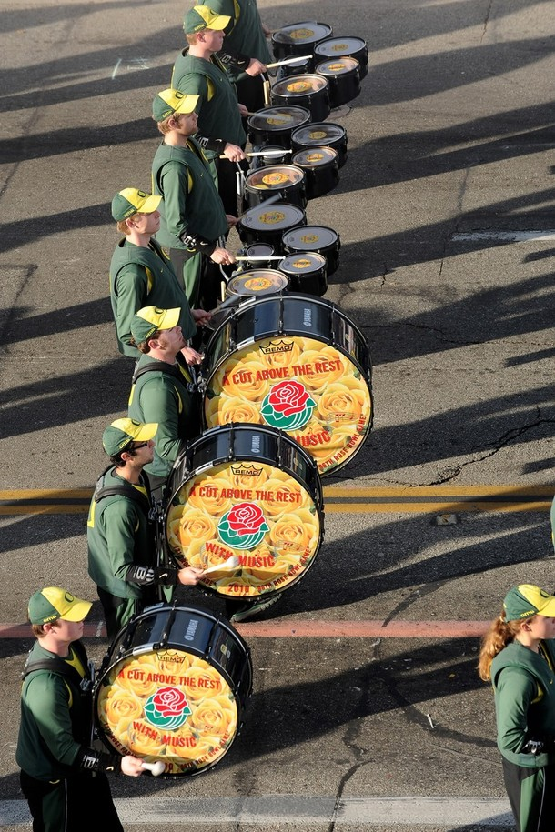 20) Выступление студенческого оркестра из Университета штата Орегон. (Alberto E. Rodriguez/Getty Images)