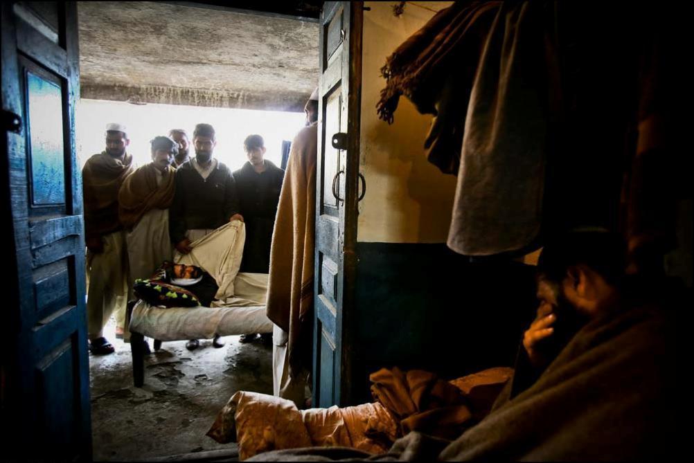 25) Погибший шахтер.