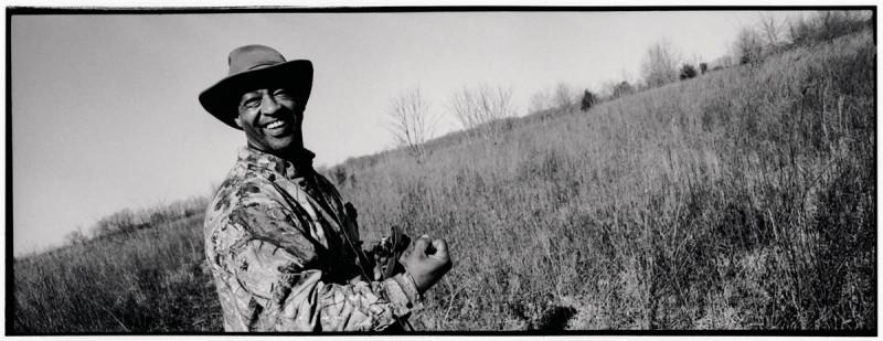 29. Терри Стэнсил. Снимок сделан в конце сезона охоты на кроликов в Делзонии, Миссури. (Sylvia Plachy / Character Project)