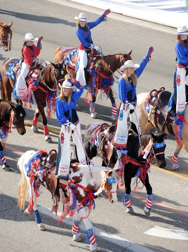 "18) Девушки из организации ""Cowgirl Chicks"" (Девченки-ковбойши). (Alberto E. Rodriguez/Getty Images)"