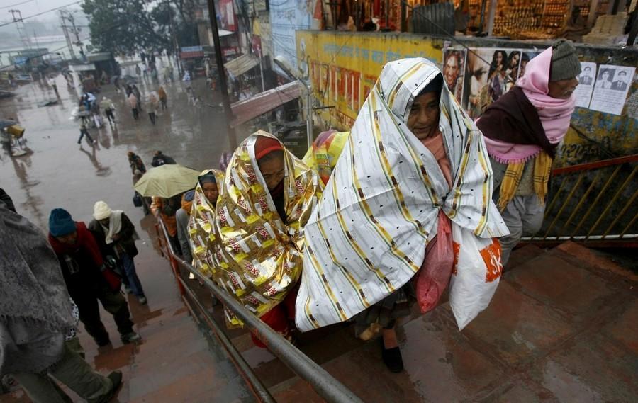 4) Фестиваль проводится раз в 12 лет в каждом из четырех городов - Харидваре, Аллахабаде (Праяге), Уджейне и Насике. (REUTERS)