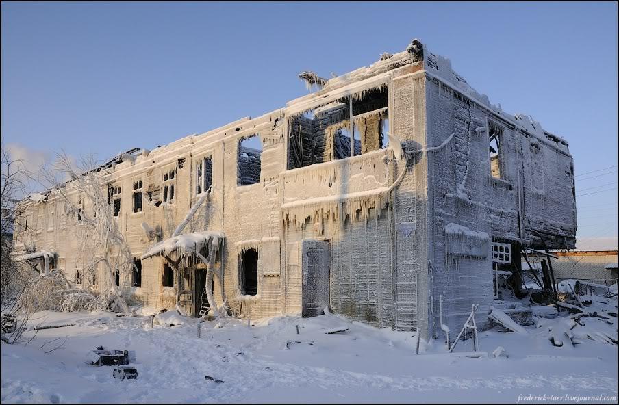 34) Посмотрели на последствия пожара в Арктике. И легли на обратный курс.