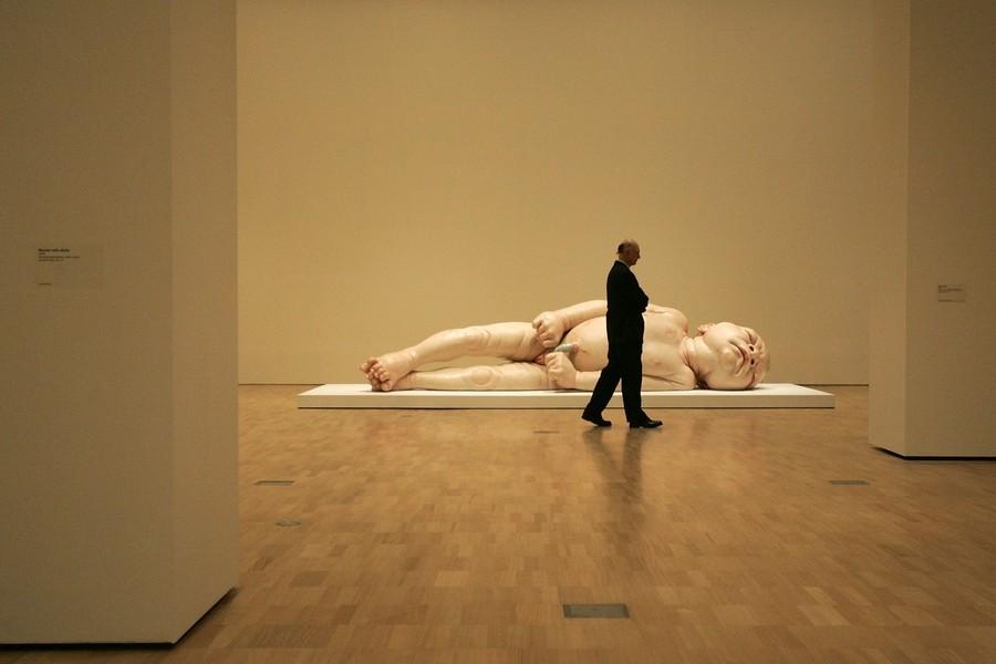 """8) Скульптура """"Девочка"""". (Raoul Wegat/Getty Images)"""