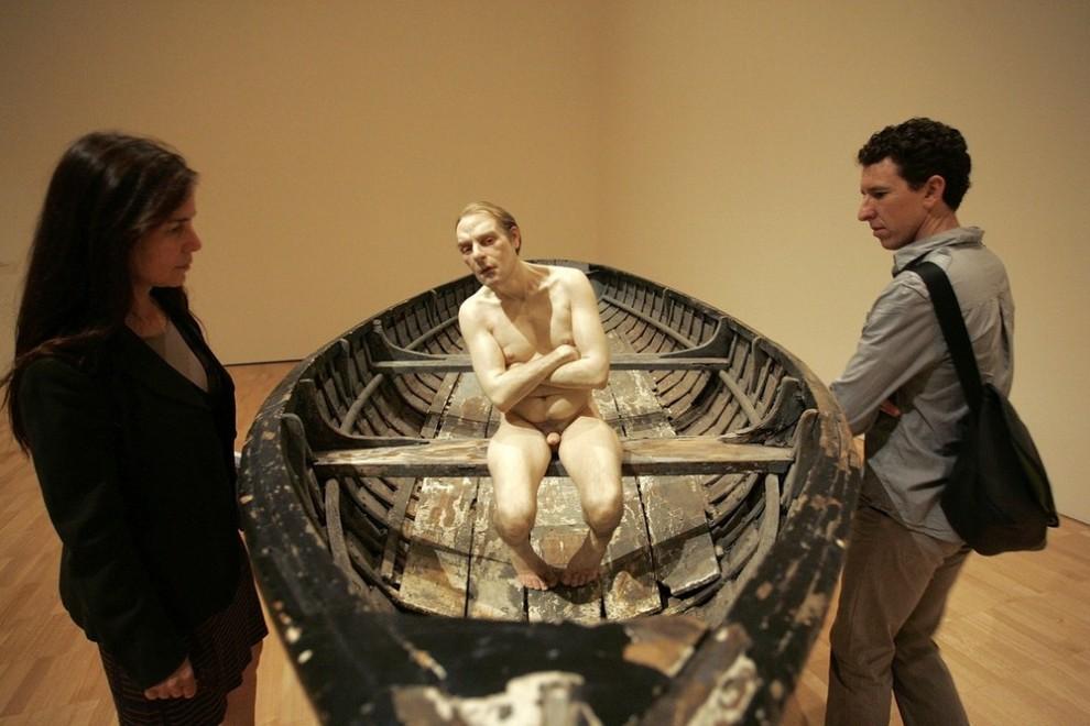 """3) Скульптура """"Человек в лодке"""". (Raoul Wegat/Getty Images)"""