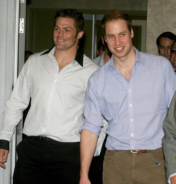 3) Принц Уильям и Ричи Маккоу. (Pool/Getty Images)