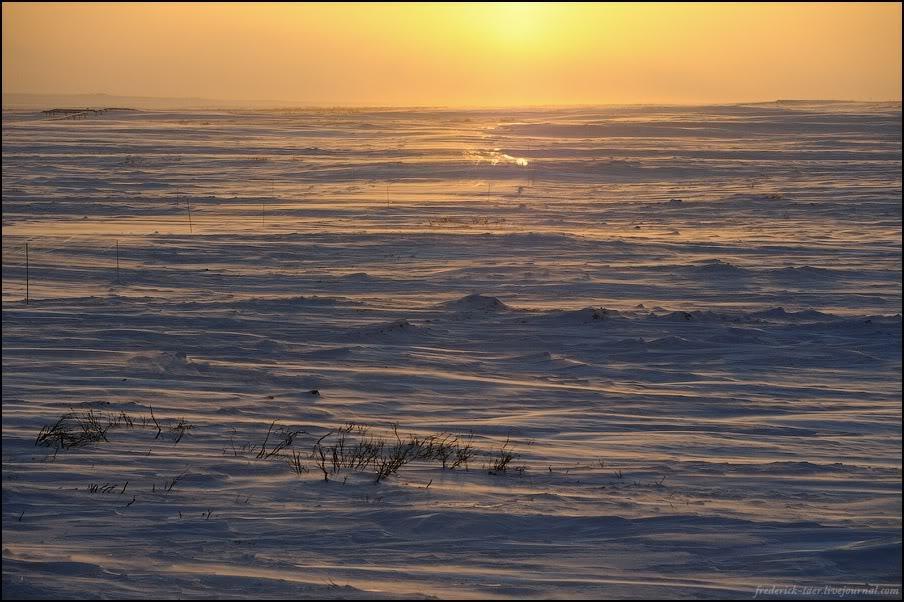 43) Прошли зимник, стоим на первом посту.