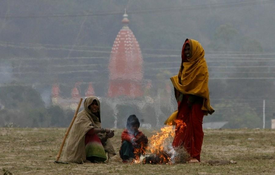 7) Масштабы Кумбха Мелы невероятны. Фестиваль продолжается от полутора до трех месяцев и собирает десятки миллионов Садху и паломников. (REUTERS)