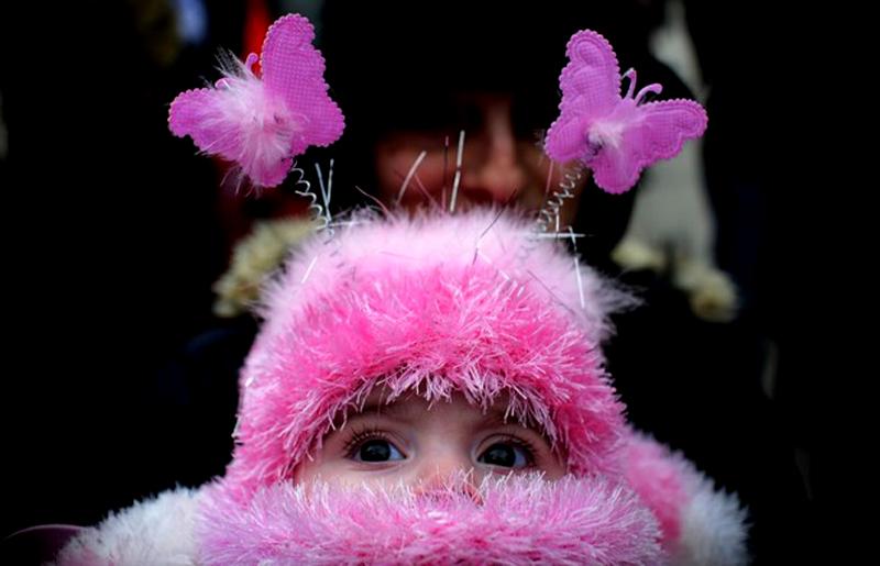 8) Неизменным остается только сам дух праздника. (REUTERS/Ognen Teofilovski)
