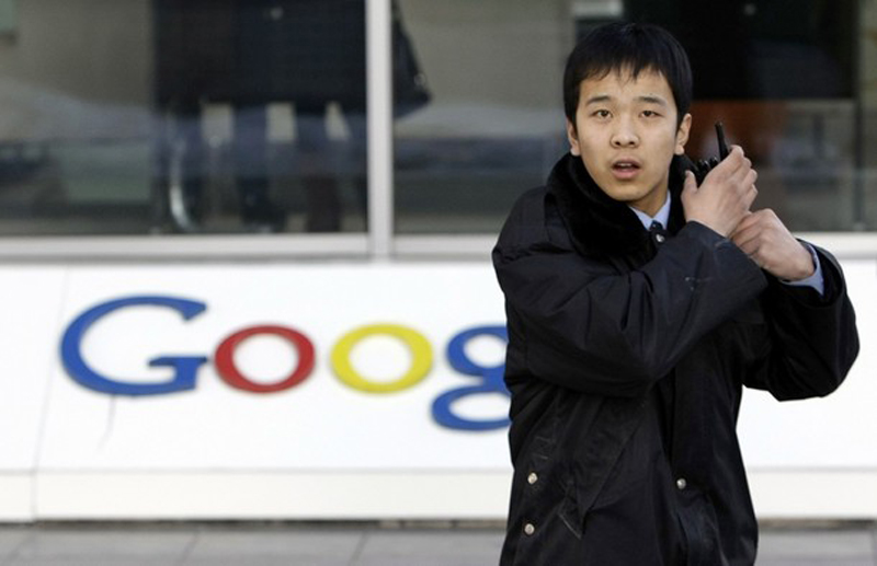 1) Компания Google опубликовала официальное заявление о том, что может прекратить работу в Китае. (REUTERS/Jason Lee)