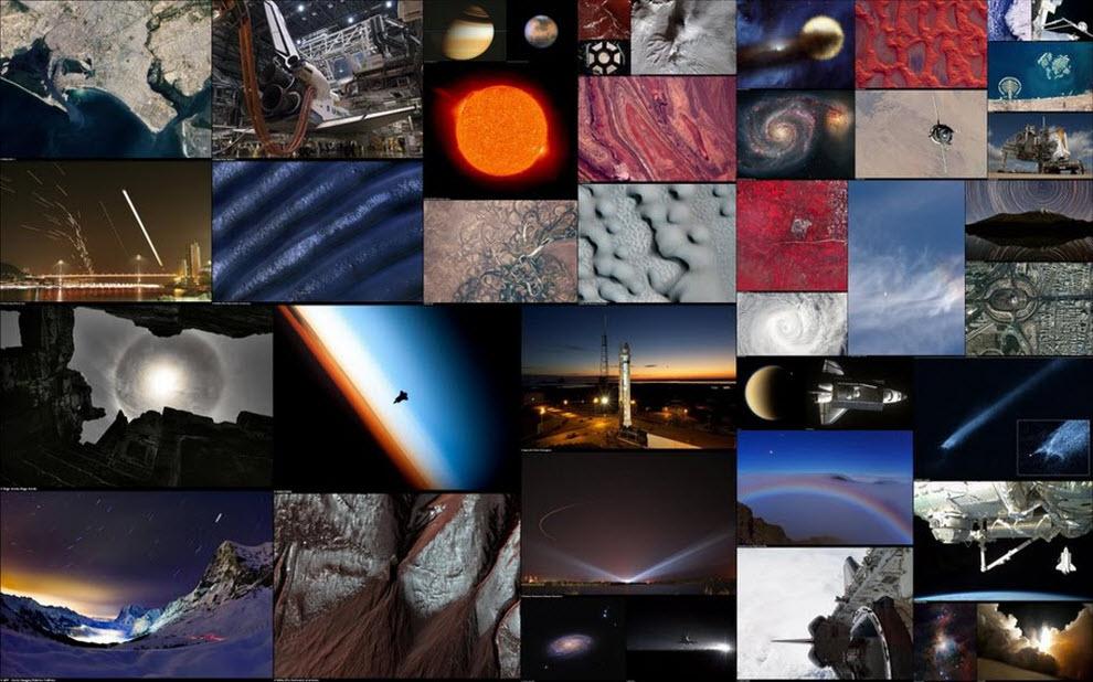 Лучшие космические фотографии месяца