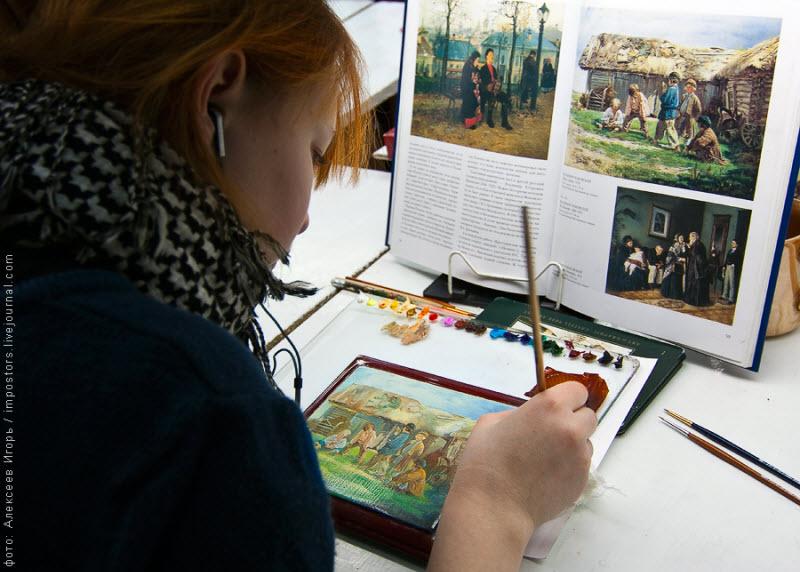 Федоскинская миниатюра