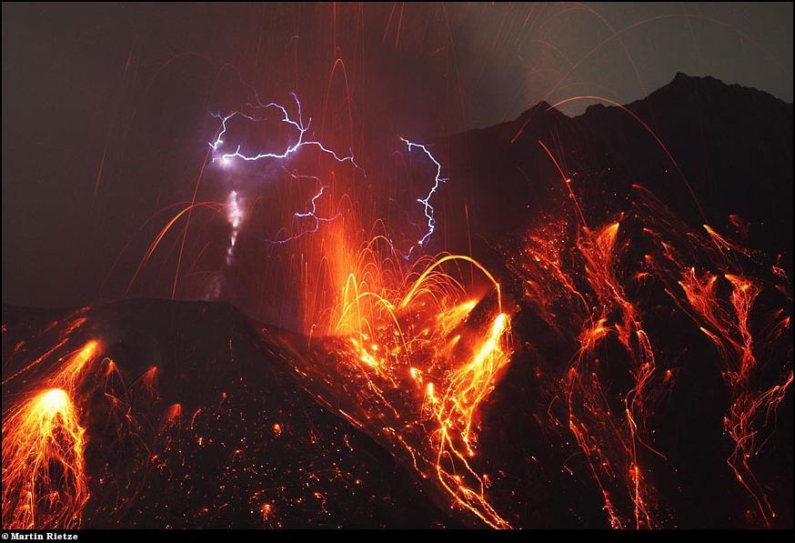 0130 Извержения вулканов