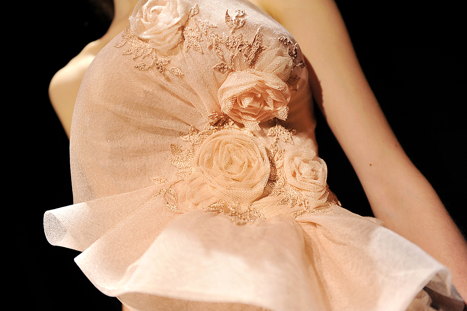 10. Показ осенней коллекции от «Marchesa» на неделе моды в Нью-Йорке. (Stephen Chernin/Associated Press)