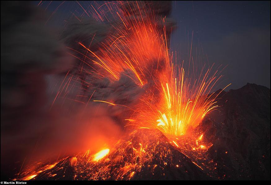 fotos erupciones de los volcanes