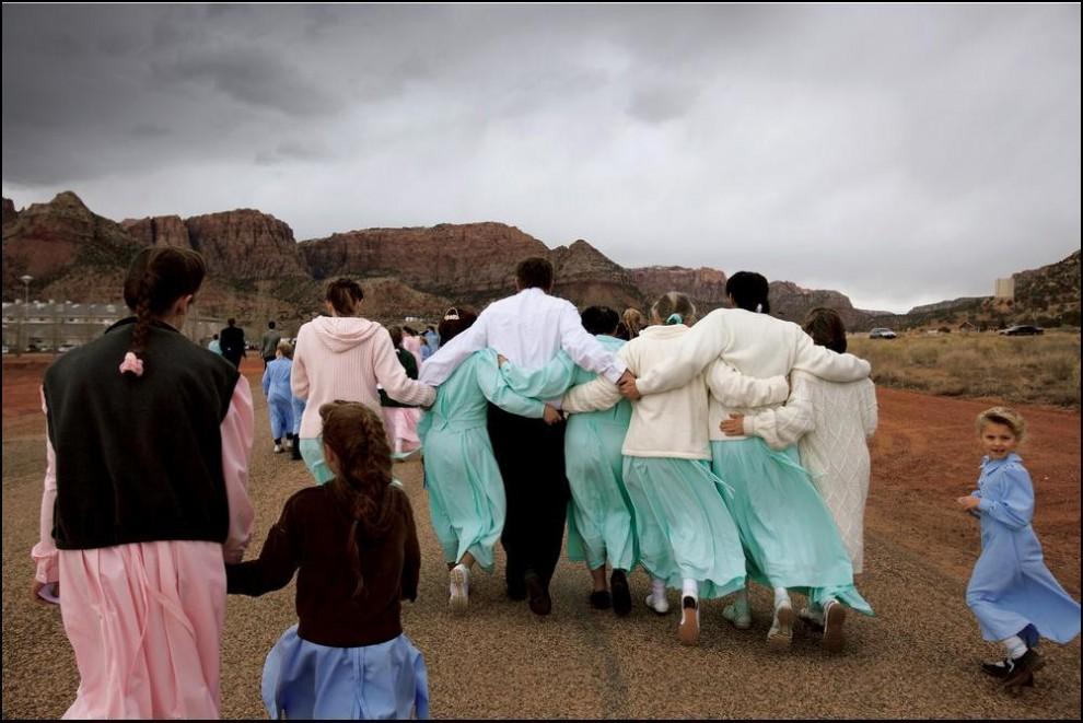 2) Еще один представитель мормонов с шестью женами. (С) Stephanie Sinclair