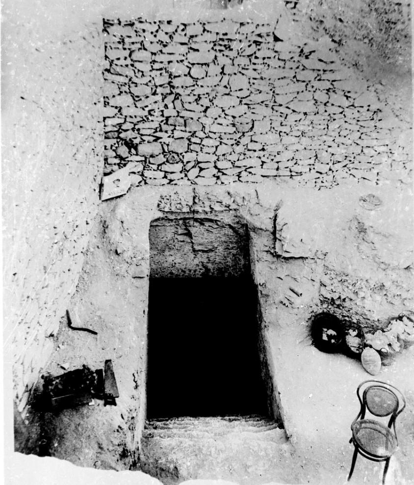 2. Детальное фото гробницы Тутанхамона, правившего Египтом с 1358 по 1350 гг до н.э. (AP Photo)