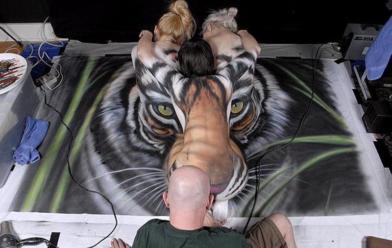 Художники за спасение тигров