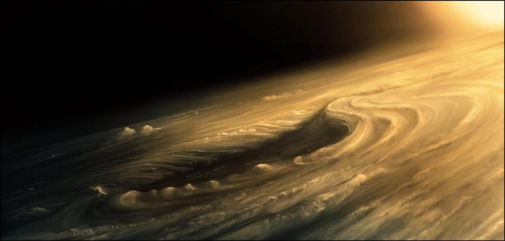 03) Венера –  Завихрение
