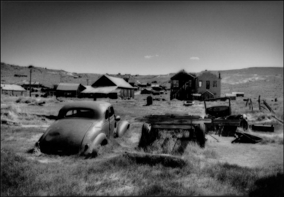 04) Город призрак на востоке Невады, США.