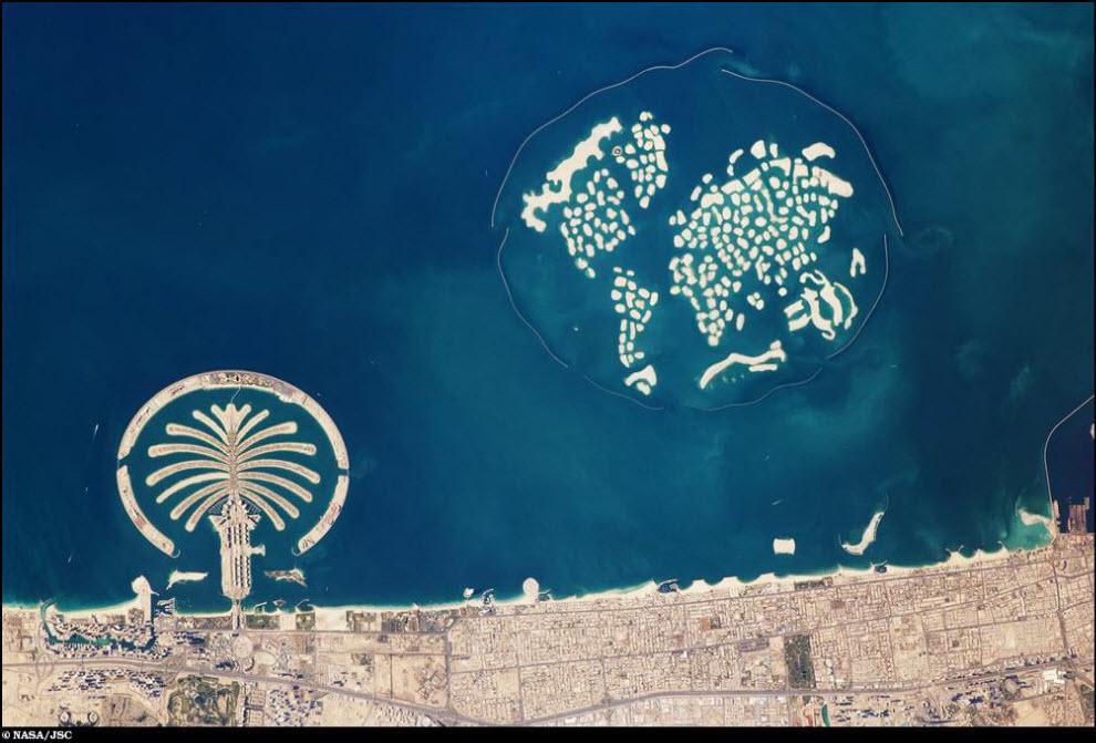 06) Искусственные острова в ОАЭ.