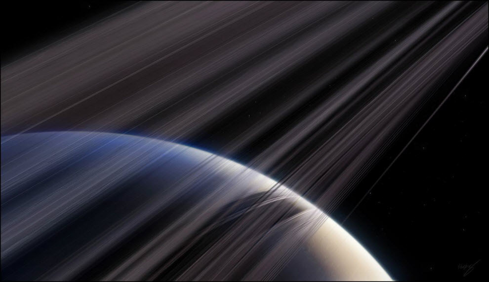 07) Сатурн – Кольца Сатурна