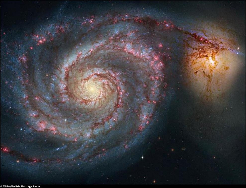 07) Галактика М51
