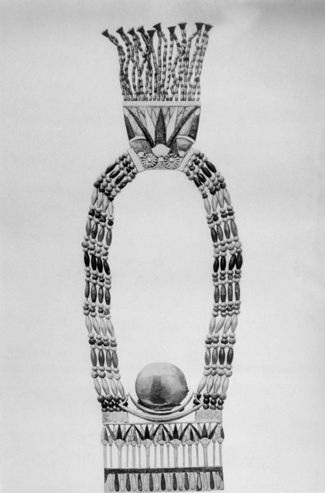 7. Одна из многочисленных находок при раскопках в Каире, в гробнице Тутанхамона. (AP Photo)