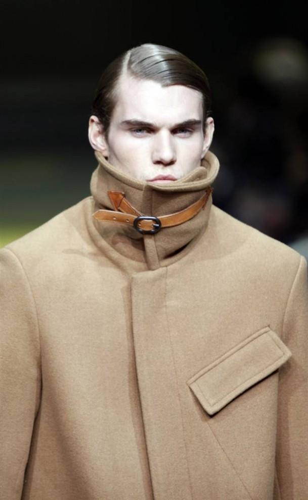 9. Модель в одежде от «G-Star» на показе в Нью-Йорке. (Natalie Behring / Reuters)
