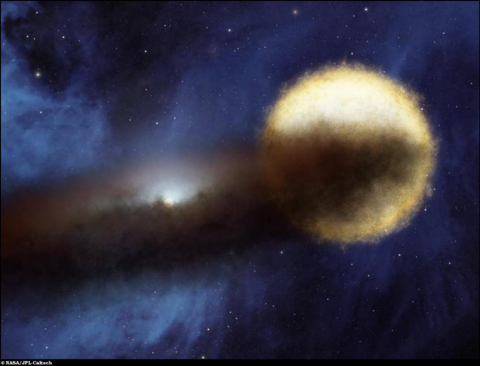 09) Загадка исчезающей звезды.