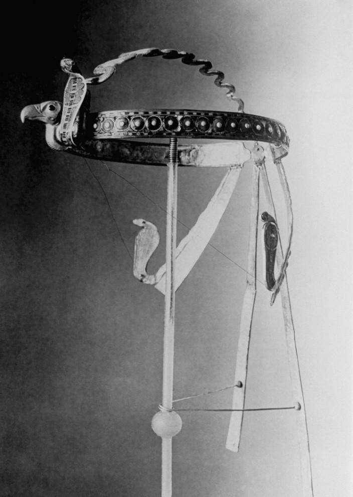 10. Головной убор, найденный во время раскопок в Каире в 1920-ых годах. (AP Photo)