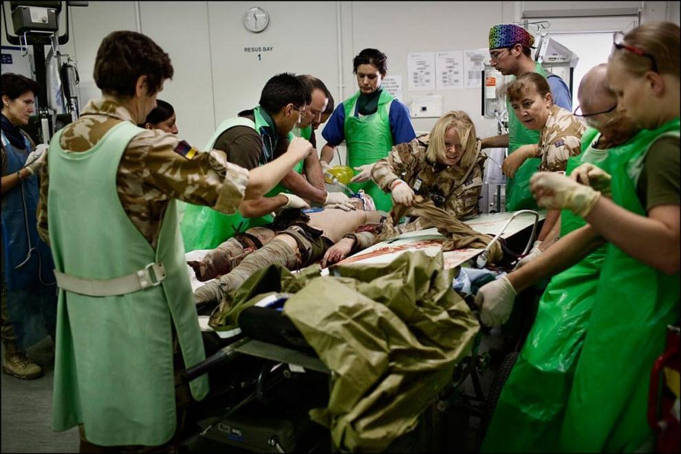 11) MERT спасает жизнь боевику Талибана.