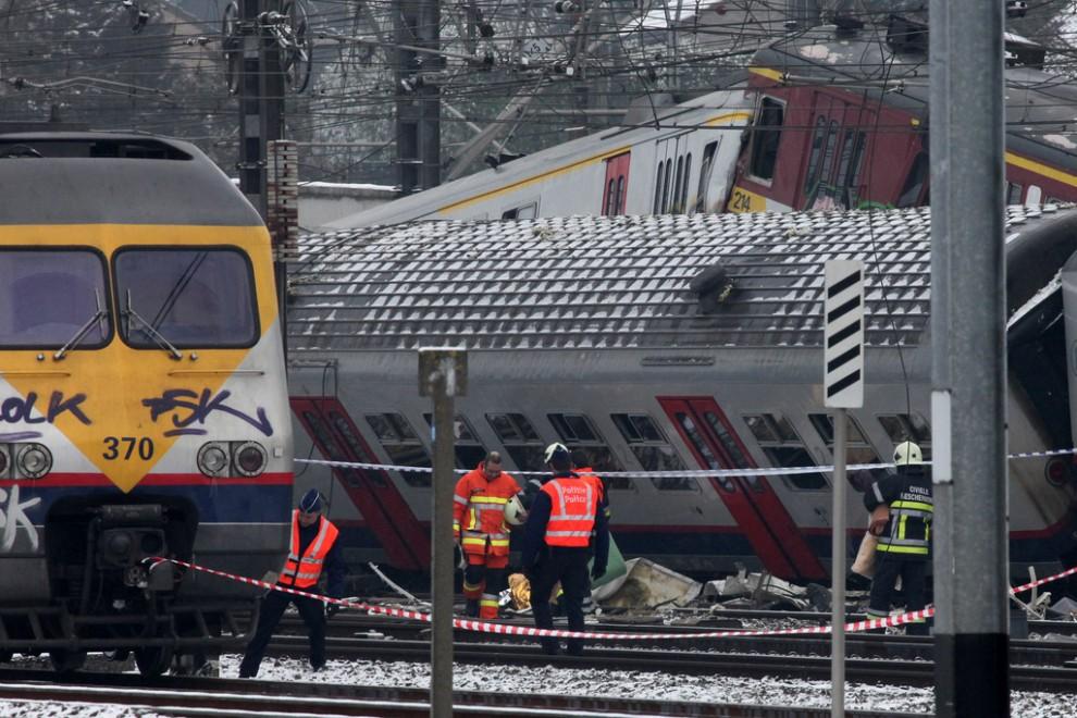 Belgium Train Crash