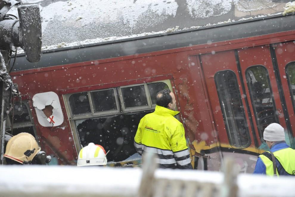 BELGIUM HALLE TRAINS ACCIDENT DISASTER