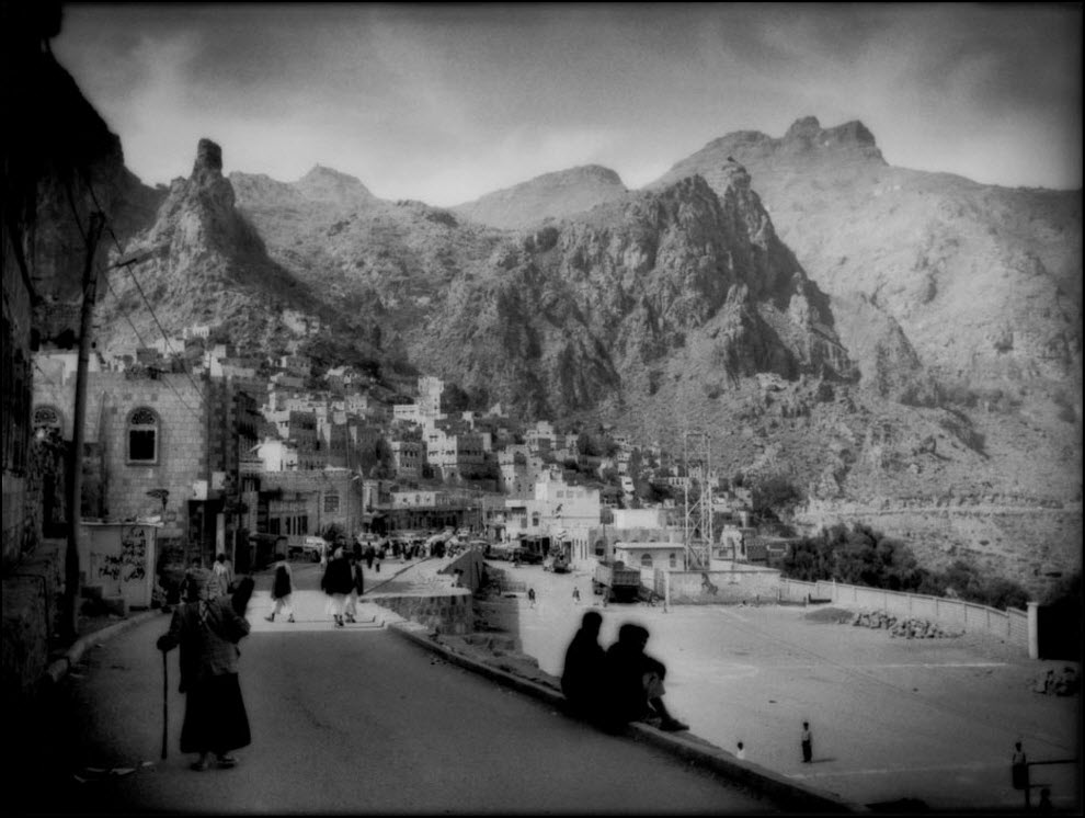 11) Город Манахан в Йемене.