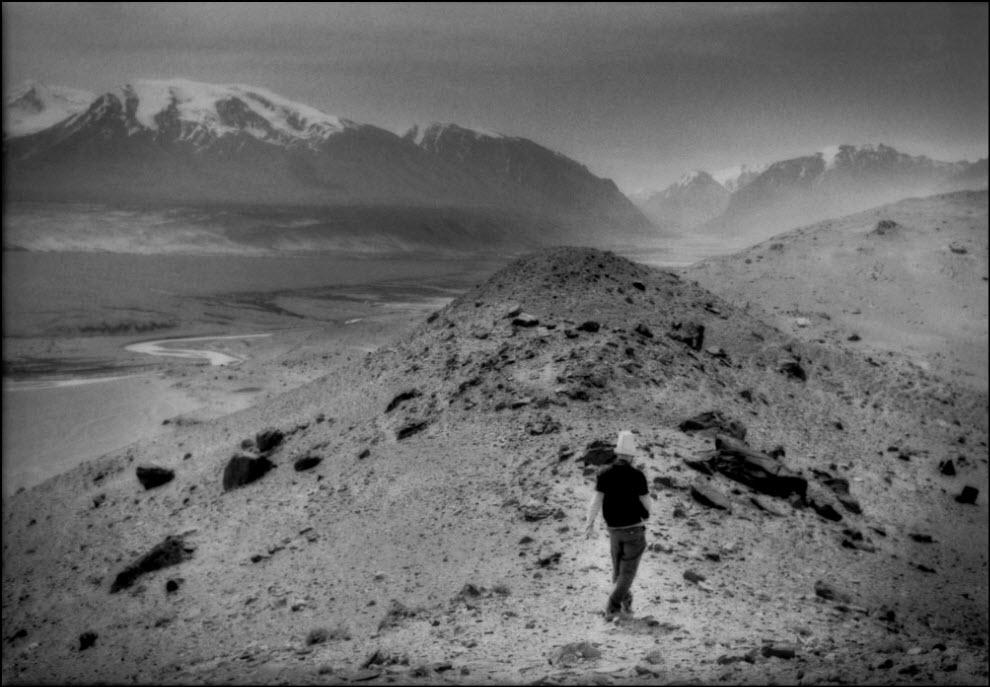 12) Долина тающих ледников на Памире.