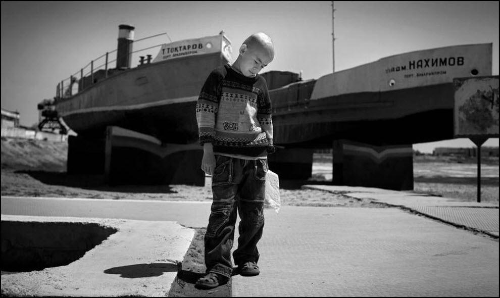 12) Порт в Аральске.