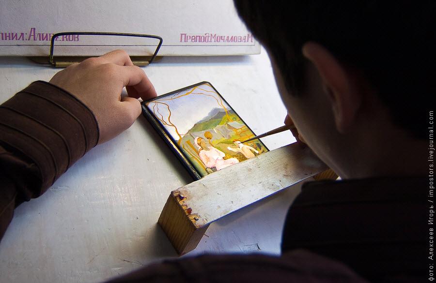 1431 Федоскинская миниатюра