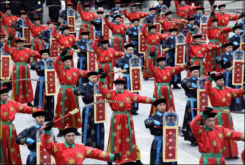 17) Выступление посвященное династии Цинь. (Reuters/Jason Lee)